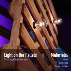 Light on the Pallets