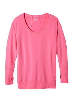 seamed plus size pullover sweatshirt (original price, $34) available at #Maurices
