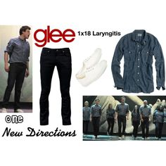 """New Directions (Glee) : One"" by aure26 on Polyvore"