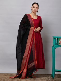 All Dupattas - Dupattas - Clothing Designer Kurtis, Indian Designer Suits, Sari Design, Party Wear Indian Dresses, Dress Indian Style, Simple Kurti Designs, Stylish Dress Designs, Churidar Designs, Kurta Designs Women