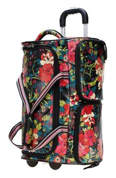 Gypsy Travel Luggage| Serafini Amelia| Sakroots 'Artist Circle' Rolling Carry-On Duffel Bag available at #Nordstrom