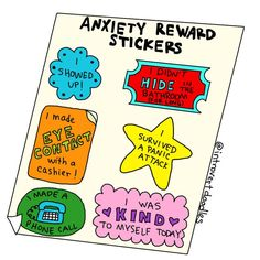 These adorable doodles show exactly what it's like to have anxiety