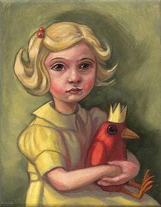 Kelly Vivanco - Art - Girl with Yellow Dress
