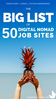We compiled this list of 50 nomad job portal sites to help existing digital nomads get by, and aspiring nomads to find their footing. If there's any that we missed or you'd like to share your experiences with any of the sites listed below, we'd love to hear from you in the comments. READ MORE: http://hobowithalaptop.com/big-list-of-digital-nomad-job-sites