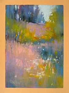 Meadow Lights by Barbara Benedetti Newton in the FASO Daily Art Show