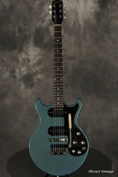 1966 Gibson Melody Maker in Pelham Blue