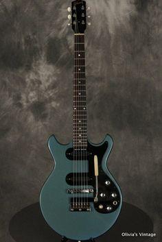 1966 Gibson Melody Maker in Pelham Blue