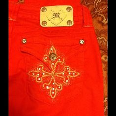 """MISS ME"" CARROT JEANS ""MISS ME"" CARROT JEANS - 89% COTTON/ 8% T-400/ 2% ELASTANE (28X32) used once..new condition Miss Me Pants"
