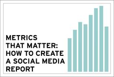How to Create a Social Media Report - Borden Communications Social Media Report, Business Ethics, Business Advice, Web Design, Create, Design Web, Website Designs, Site Design