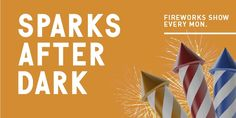 Sparks After Dark Fireworks Show : The Wharf at Orange Beach