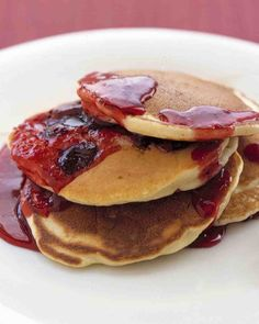 Cranberry Pancakes Recipe