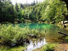 Colorful Lake, Rudawy Janowickie, Green Lake, Poland