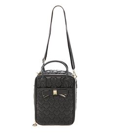 Betsey Johnson Be Mine 4ever Quilted Lunch Tote