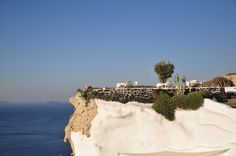 where I had my breakfast @ Andronis Luxury Suites, Oia, Greece.