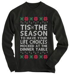 Tis The Season Ugly Christmas Sweater