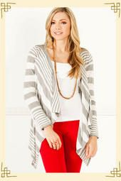 Perfectly Striped Wrap $38