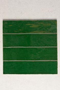 Code: TT0152 Colour: Green Finish: Gloss Type: Tile Material: Ceramic Size: 75mm x 300mm Shape: Rectangle Look: Subway Pattern: Subway Thickness: 10mm Walls: Bathroom Walls, Kitchen Splashback, Feature Walls Origin: Made In Spain Green Subway Tile, Green Tiles, Subway Tiles, Wall Tiles, Colours That Go With Grey, Brick Bonds, Grey Houses, Cool Undertones, Tiles Online