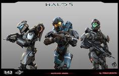 ArtStation - Halo 5 Guardians _ multiplayer armors, pablo vicentin