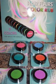 Enter to WIN 3 Hair Flairs Color Rubs!  Canada only.
