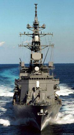 Takanami class destroyer DD 110 JDS Takanami Japan maritime self defense force Army & Navy, Navy Military, Naval Tattoos, Navy Special Forces, Bateau Yacht, Navy Coast Guard, Us Navy Ships, Navy Aircraft, Super Yachts