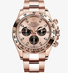 PROFESSIONAL WATCHES: Everose Gold Daytona by Rolex