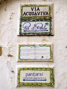 Capri, Italy..PANTA REI