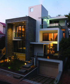 """Technoarchitecture.inc - Project - """"NESTED BOX HOUSE"""""""