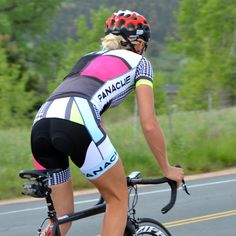 Women's Mondrian Sky Blue Limade Cycling Kit 3 More
