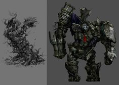 Golem - Characters & Art - Castlevania: Lords of Shadow 2