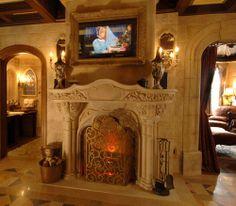 Cinderella Fireplace