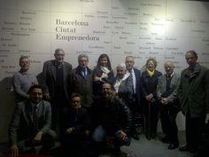 A Barcelona Activa amb els Junta de FATEC