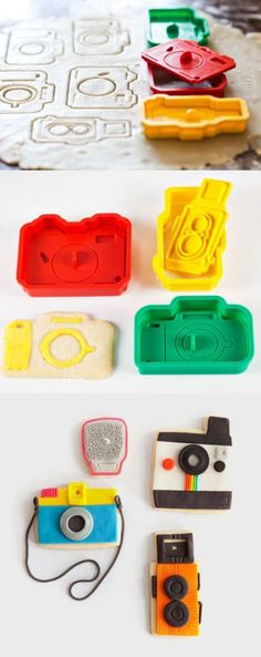 Camera Cookies & Cookie Cutters