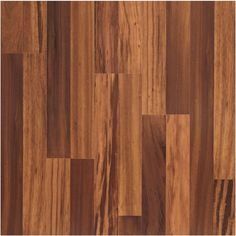 allen + roth laminate 7-1/2-in w x 47-1/4-in l warmed walnut