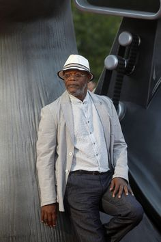 Fabulously Spotted: Samuel L. Jackson Wearing Giorgio Armani - 'Turbo' Madrid Premiere - http://www.becauseiamfabulous.com/2013/06/samuel-l-jackson-wearing-giorgio-armani-turbo-madrid-premiere/