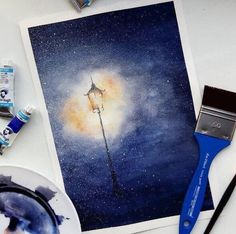 Find the person who can ignite the light of your heart when everything is .- Finde die Person, die das Licht deines Herzens entzünden kann, wenn alles schwa… Find the person who has the light of your heart … - Painting Inspiration, Art Inspo, Art Sketches, Art Drawings, Galaxy Painting, Night Sky Painting, Galaxy Art, Art Diy, Art Design