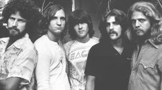 """As the Eagles co-founder, singer and songwriter Glenn Frey mastered the mix of rock 'n' roll and country music, and the band's hits - including """"Hotel California"""" and """"Take It Easy,"""" both co-written by Frey - helped define Eagles Band, Eagles Lyrics, Eagles Music, Eagles Songs, Song Lyrics, Rock N Roll, Rock & Pop, Rock And Roll Bands, 1970s"""
