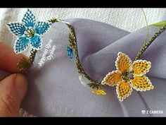Brooch, Make It Yourself, Youtube, Jewelry, Needlepoint, Jewlery, Jewerly, Brooches, Schmuck
