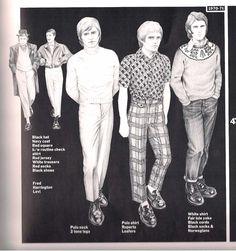 Mod to Suedehead - Page 3 Mod Fashion, Vintage Fashion, Street Fashion, Ska Music, Grunge, Grandad Shirts, Guy Bourdin, Navy Coat, Rude Boy