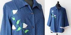 Vintage smock just listed. Perfect for the artsy fartsy types ;)
