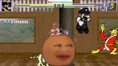 Annoying Orange & Mario VS Hong Kong Phooey & Twilight Sparkle In A MUGEN Match / Battle / Fight This video showcases Gameplay of Twilight Sparkle From The My Little Pony Friendship Is Magic Series And Hong Kong Phooey The Superhero VS Mario And The Annoying Orange In A MUGEN Match / Battle / Fight