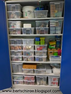 Geeking out over my super organized science closet. Clear plastic boxes from IKEA + Dymo label maker = WIN. Setting up for labs and demos will be a breeze now!