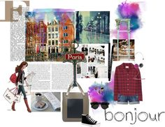 """Paris"" by menoline ❤ liked on Polyvore"