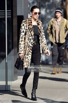 Bella Hadid is seen in the East Village on November 18, 2016 in New York City.