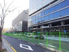 Security Fence for Nuclear security Summit in Coex