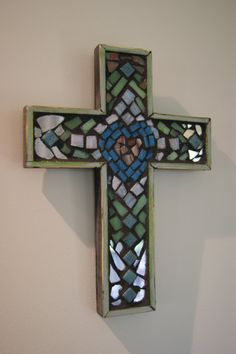 mosaic cross -- this I could make