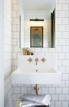 modern jane: Wall Mount Sink ~ Yay or Nay?