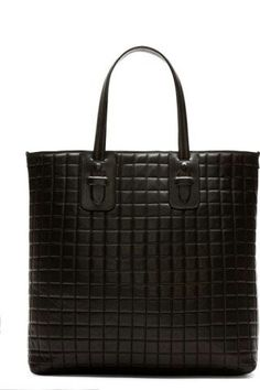 Neil Barrett quilted tote