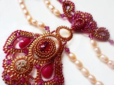 Today design of the day is amazing necklace in Indian style Devdasi by Elena Bezar             [ad#Adsense3]
