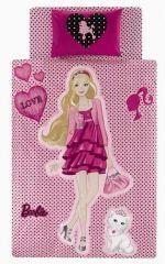 Taç Lisanslı Nevresim Takımı Barbie Fabulous Life