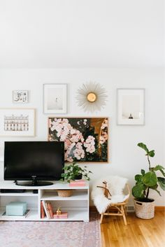 living room decor and accents